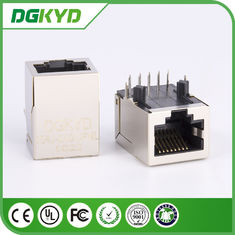 Shielded Single Port RJ45 gigabit Ethernet Connector for industial Router