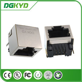 China Single Port RJ45 shielded Jack Without Transformer,10/100/1000BASE 8p8c Connector supplier