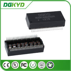 China KGP4806SR dual Port gigabyte ethernet magnetic transformer modules with power over ethernet supplier