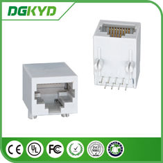 Single Port RJ45 PCB Connector Transformer Optical Transceiver