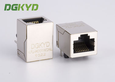 China Metal shielded industrial modular jack cat6 rj45 connectors, RIGHT ANGLE supplier