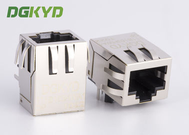 China POE RJ45 Connector with internal isolationTransformer 100base-TX 8P8C OEM / ODM factory