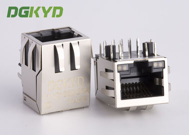 China 10 Pin Receiver Filter RJ45 jack with internal isolation transformer 1000 BASE factory