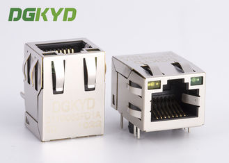 China Tap Up 10 / 100 Base-tx RJ45 Connector with Transformer for  Router supplier