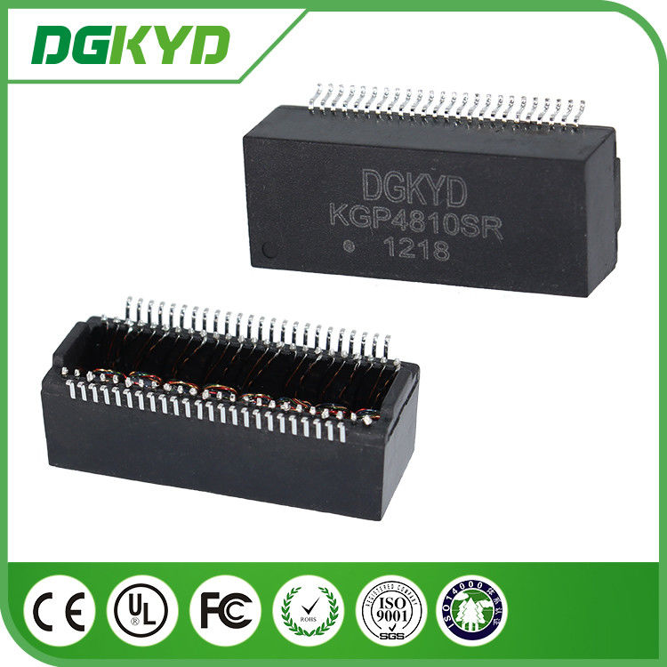 KGP4810SR gigabyte ethernet isolator transformer with POE , SMD Mounting supplier