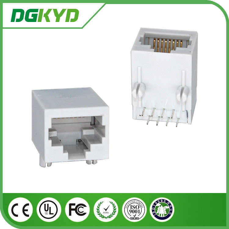 China Single Port RJ45 PCB Connector Transformer Optical Transceiver factory