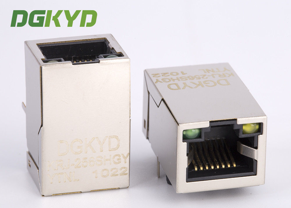 RJ45 Female Connector with isolation transformer 10/100base-TX for wifi router supplier