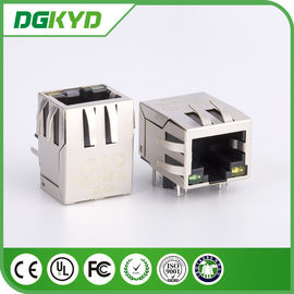 China Net Bridge rj45 connector with Network Filter Side Entry single Port 10 / 100Base distributor