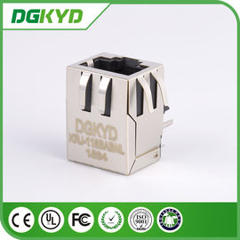 China 1000BASE Integrated Magnetics rj45 network jack single port for video camera distributor