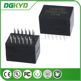 China KG2401DR Dip 100/1000 Cat6 Gigabyte Ethernet Transformer Modules , 24 Pins distributor