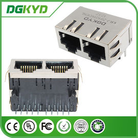 China Custom 1000BASE Integrated RJ45 Jack w / o led for Router or Computer applications distributor
