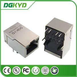 25.4mm Tap Up RJ45 Ethernet Connector with 10/100BaseTransformer