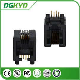 China Tab Down phone Jack 4P4C Network RJ11 Connector for phone switch distributor