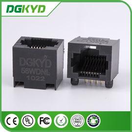 China DGKYD - 56WDNL 100 Base - T Right Angle Rj45 Single Port High Performance distributor