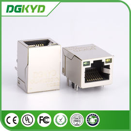 China KRJ - H009GYNL network jack rj45 keystone module Single port with LEDs distributor