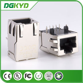 China Metal shielded CAT6 10 Pin Rj45 Connector KRJ -300CNL High performance distributor