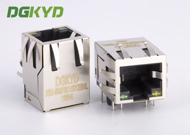 China KRJ-5921S11GYZENL PCB Mount Single Port Rj45 Network Connector 8P8C modular jack distributor