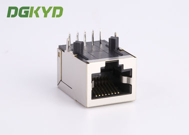 China Integrated Magnetics RJ45 Cable Connector PoE++ 10/100Base-T / TX  for Router distributor