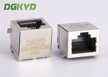 China Customized Single port pcb mount SMD/SMT low profile rj45 modular jack distributor