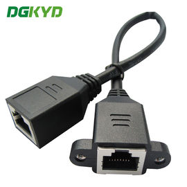 China Custom Shield Rj45 Female To Female Ethernet Cable Network Ethernet Extension Cable distributor