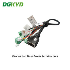 China Surveillance Cameras Ethernet Cable Camera Tail Line With Power Terminal Bus distributor