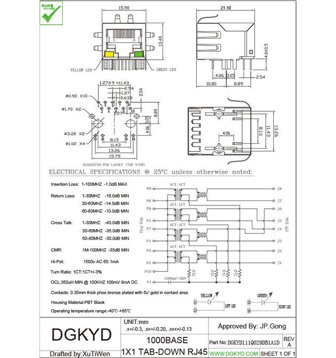 Fantastisch Rj45 Cat6 Schaltplan Zeitgenössisch - Elektrische ...