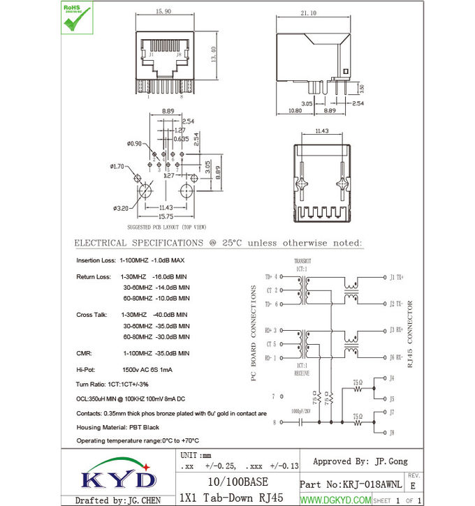 Beste Ethernet Jack Schaltplan Bilder - Elektrische Schaltplan-Ideen ...